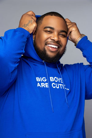 Big Boys Are Cute Hoodie