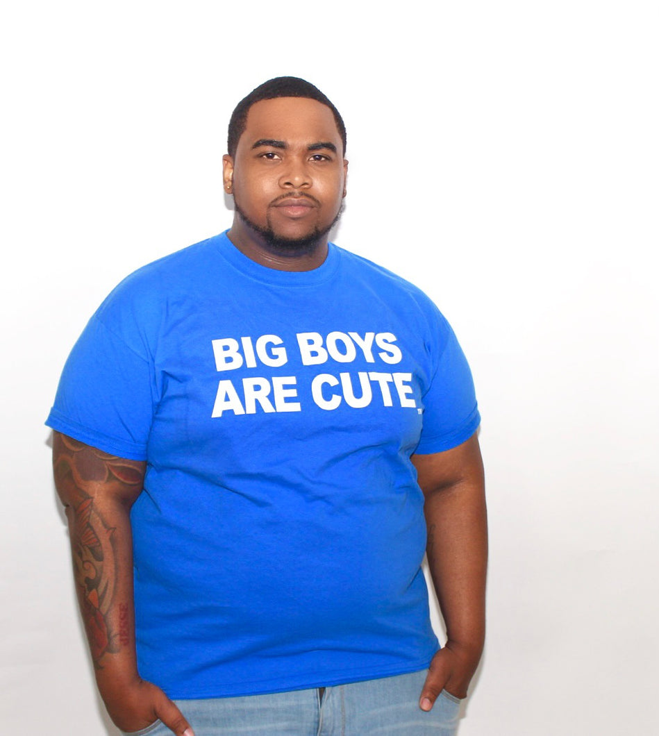 Big Boys Are Cute Limited Edition Summer T-Shirt ( BLUE )