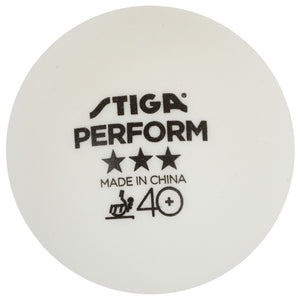 Sitga Perform 40+ Ball 3 Star White 3 Pack