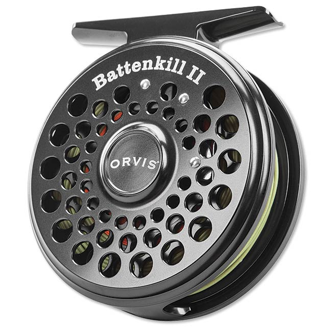 Battenkill 11 Reel Black Nickel