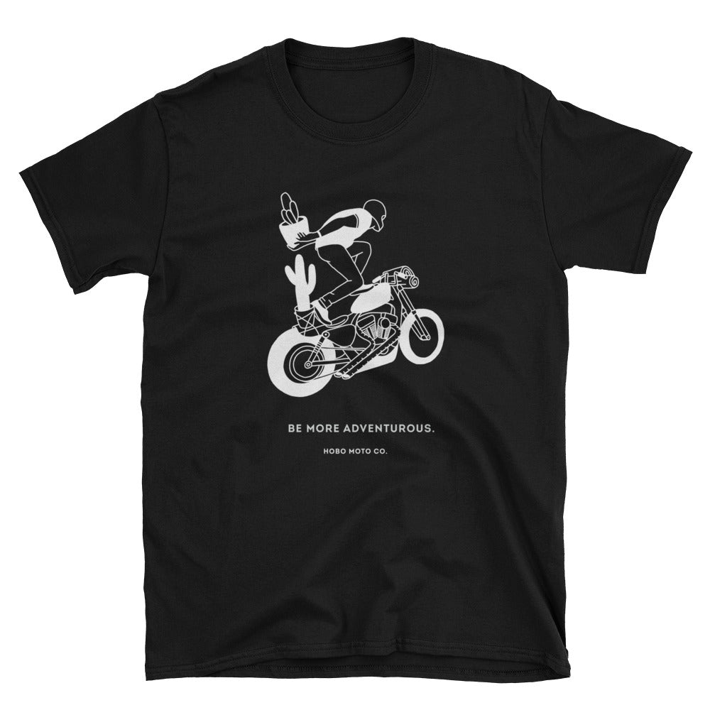 Be More Adventurous! Short-Sleeve Unisex T-Shirt