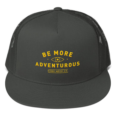Be More Adventurous! Mesh Back Snapback