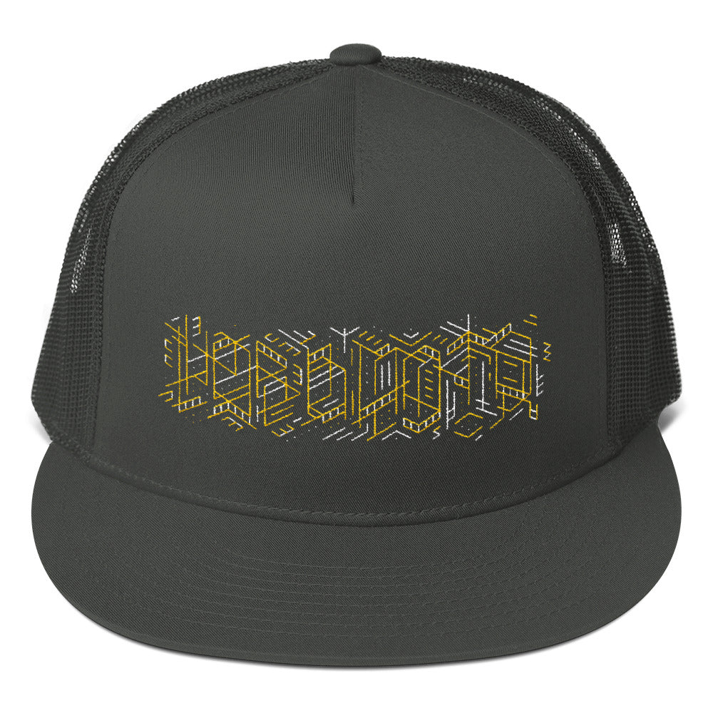 Cryptic Hobo Mesh Back Snapback