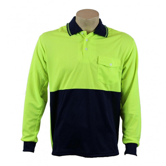 HiViz Polo -  Long Sleeve