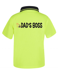 Kid Hi Viz Polos - Most Popular
