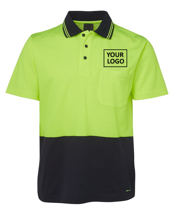 HiViz Polo Shirt - Printed pricing guide