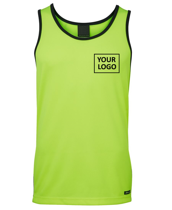 HiViz Singlet - Printed pricing guide