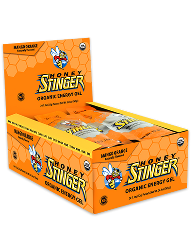 24 Pack of Honey Stinger Energy Gel – Mango Orange