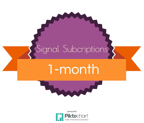 1-month Signals Subscription