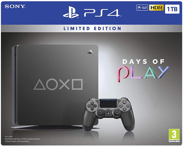 Days Of Play Special Edition PS4 1TB Slim Console