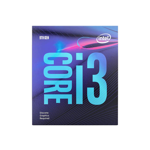 Intel Core i3-9100F 9th Gen Desktop Processor LGA1151 (Discrete Graphics Required)