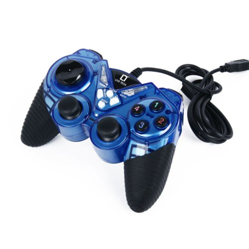 Live Tech LT Game Pad (Dual Vibration Gamestick) Blue