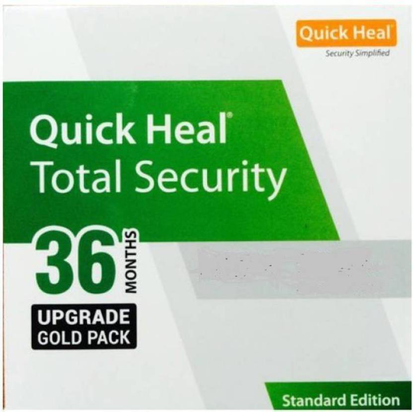 Quick Heal Total Security 10 PC 3 Year Upgrade for Renewal