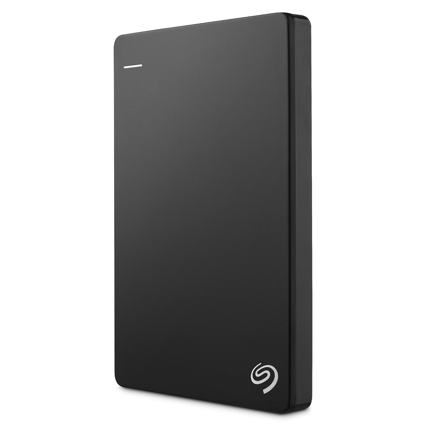 Seagate Backup Plus Slim 2TB Portable External Hard Drive HDD (Black)