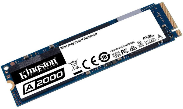 Kingston 250GB A2000 M.2 2280 Nvme Internal SSD  Up to 2000MB/S