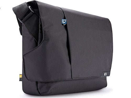 Case Logic Mlm-114 14.1-Inch Laptop /Macbook Air / Pro Retina Display And Ipad Messenger (Black)