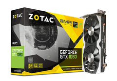 Zotac Amp Edition GTX 1060 6GB DDR5  Graphics Card IceStorm Cooling