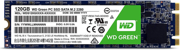 WD Green 120GB Sata III M.2 Internal SSD (WDS120G1G0B)