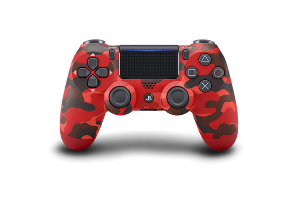 DUALSHOCK 4 Wireless PS4 Controller Red Camouflage PlayStation 4