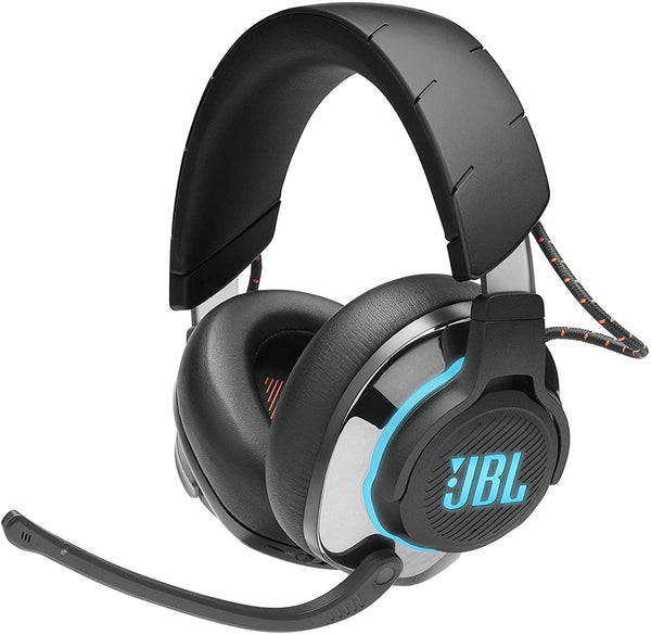 JBL Quantum 800  Wireless Bluetooth noise cancelling Gaming Headset with Microphone and RGB, PC, console Compatible - Black