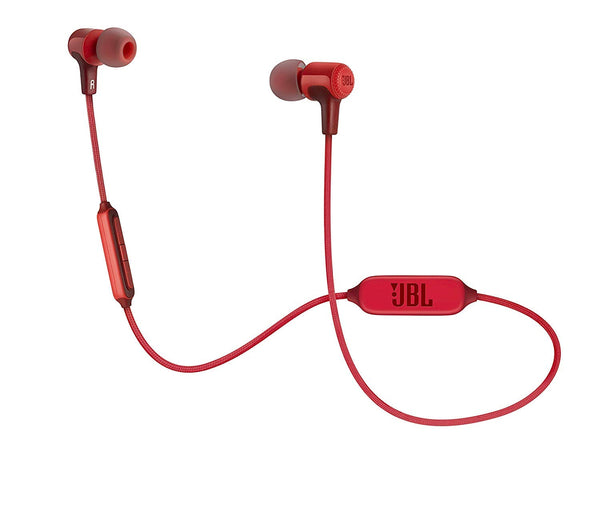 JBL E25BT Bluetooth Wireless in-Ear Headphones with Mic Red