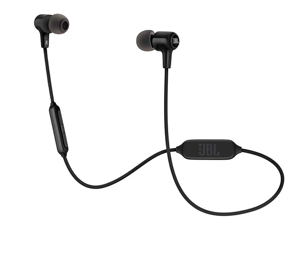 JBL E25BT Signature Sound Wireless in-Ear Earphones with Mic (Black)