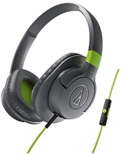 Audio-Technica Sonic Fuel ATH-AX1iS GY Sonic Fuel Over-Ear Headphones (Grey)