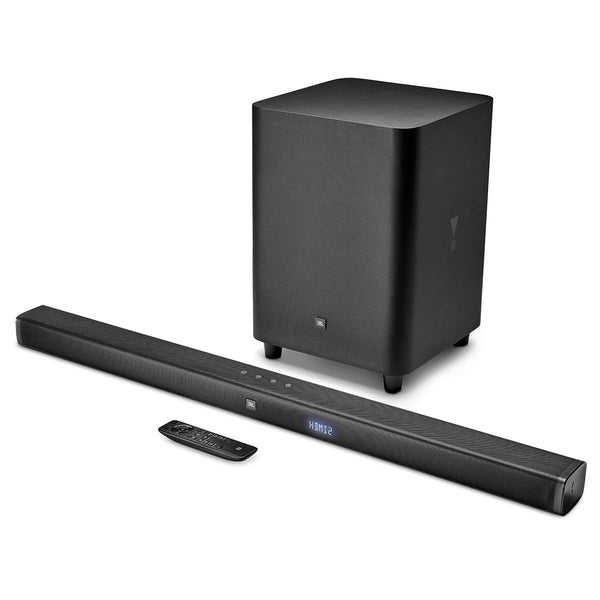 JBL 3.1 Sound Bar with Wireless Subwoofer (Black)