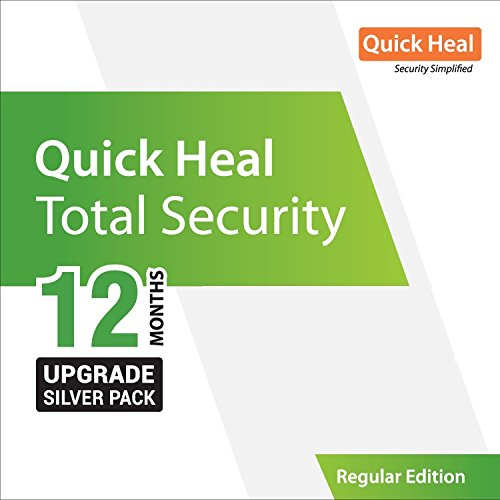 Quick Heal Total Security Renewal Silver 1 User, 1 Year (existing subscription req)