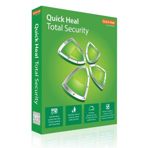 Quick Heal Total Security Latest Version 3 user 1 Year