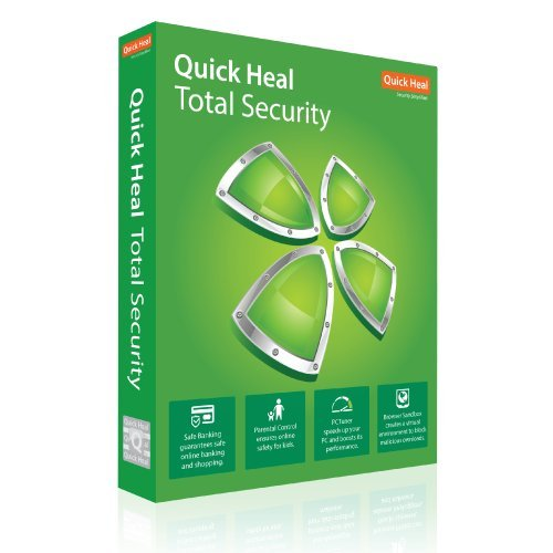 Quick Heal Total Security Latest Version - 3 User, 3 Years