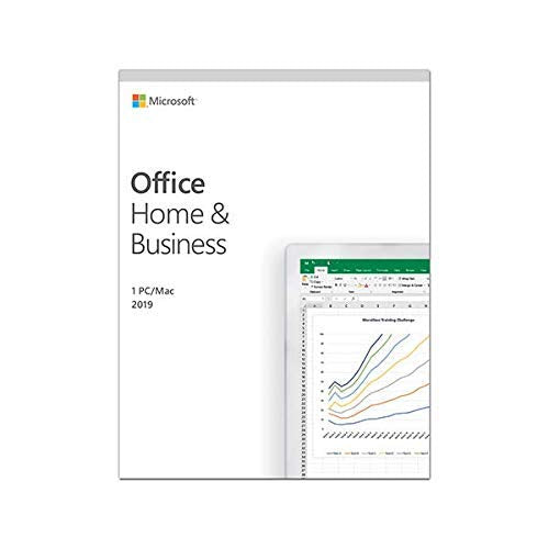 Office 2019 Home and Business  Product Key Card  Mac /Win 1 user