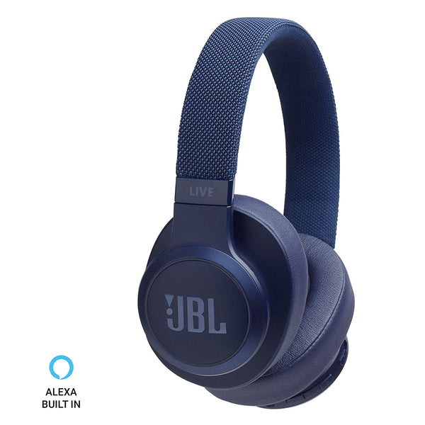 JBL Live 500BT Wireless Over-Ear Voice Enabled Headphones Blue