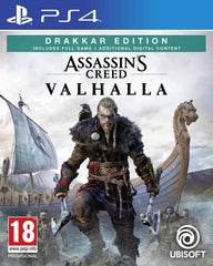 Assassin's Creed Valhalla with Steelbook (PS4)