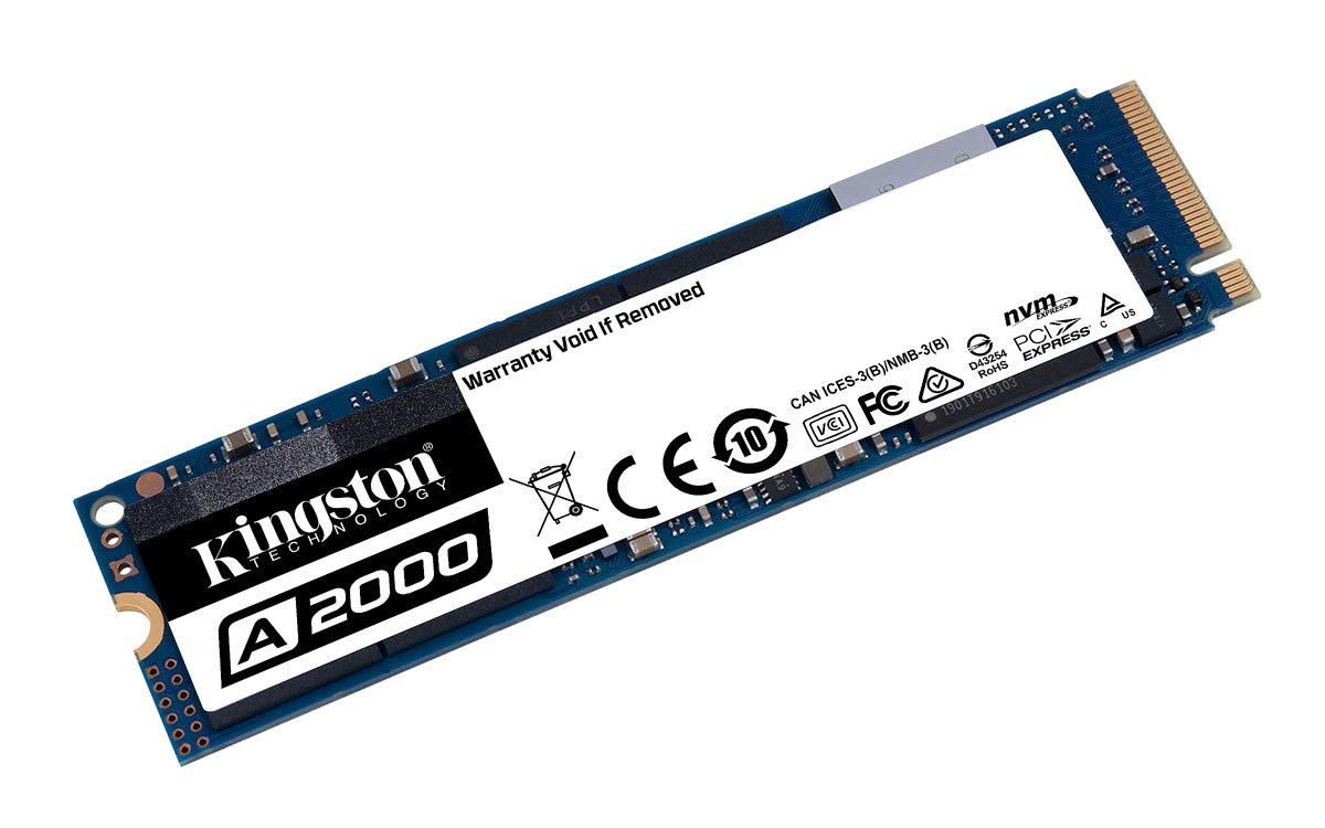 Kingston 1TB A2000 M.2 2280 Nvme Internal SSD Up to 2000MB/S