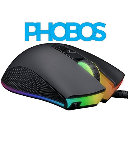 ZEBRONICS USB Gaming Mouse (Phobos) with RGB Lights