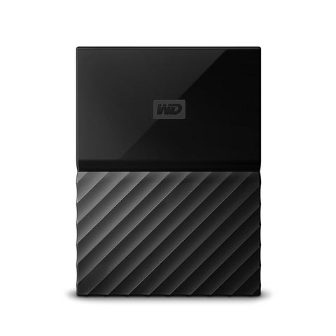 WD My Passport 2TB Portable External Hard Drive (Black) USB