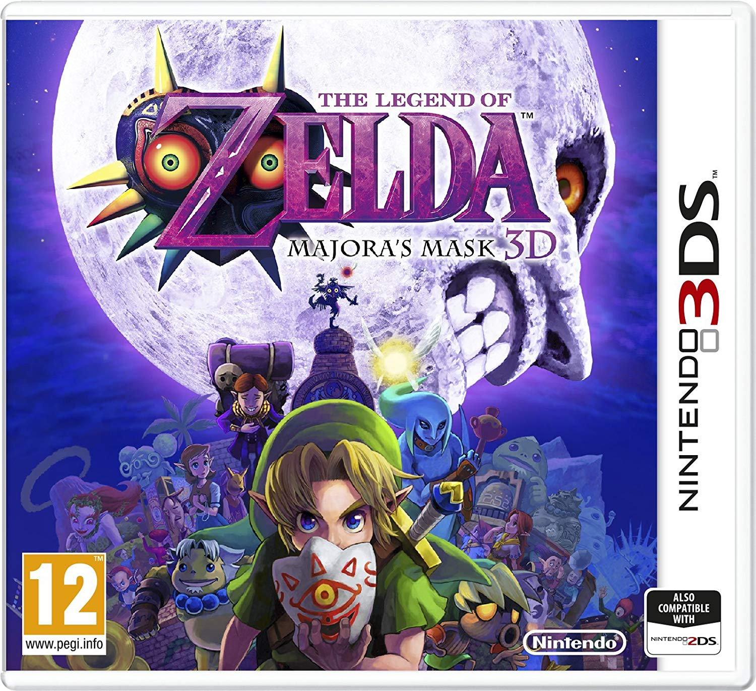 Legend of Zelda Majora's Mask 3D /3DS