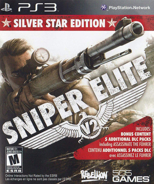 Sniper Elite V2 - Silver Star Edition (PS3)