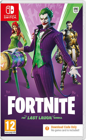 Fortnite: The Last Laugh Bundle Nintendo Switch