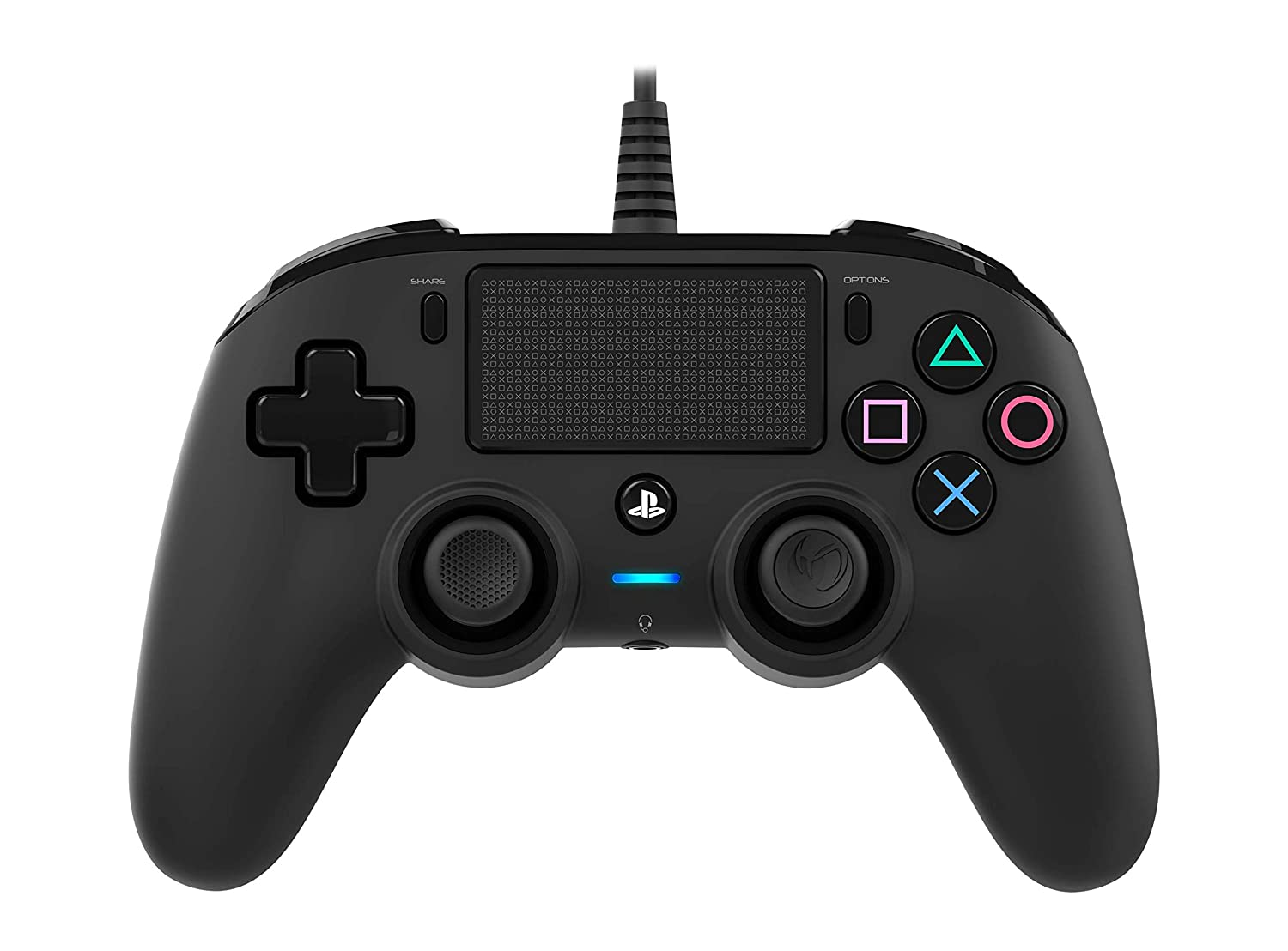 Nacon Wired Compact Controller for PS4 (Black)