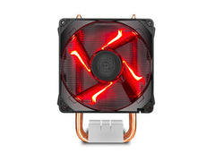 Cooler Master Hyper H410R with 92mm Red LED Processor Fan