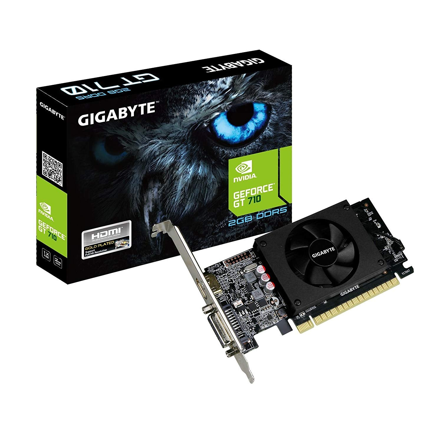 Gigabyte GeForce GT 710 2GB Graphic Card GV-N710D5-2GL ddr5