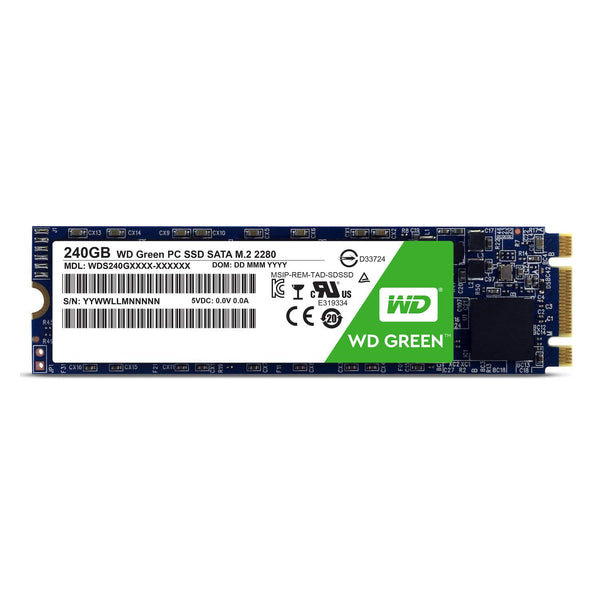 WD Green 240GB M.2 2280 Internal SSD (WDS240G1G0B)