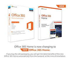 Microsoft Office 365 Home -6 users (Win/Mac) for 12 month/1 Year (Activation Key )