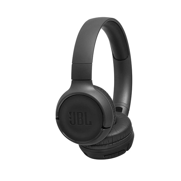 JBL Tune 500BT Powerful Bass Wireless On-Ear Headphones with Mic Black