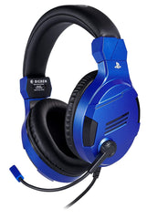 Bigben official Sony licensed Stereo Headset For PS4, PC (Blue)