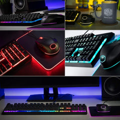 Cooler Master MasterSet MS120 Gaming Keyboard and Mouse Combo Black
