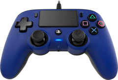 Nacon Wired Compact Controller for PS4 (Blue)