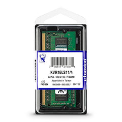 Kingston 4GB DDR3 1600MHz  Laptop RAM (KVR16LS11/4)